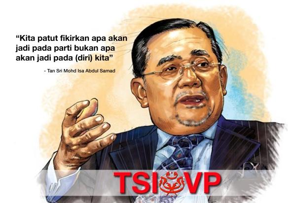 Tan Sri Isa Samad for UMNO Vice President 2013